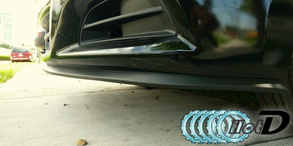 Hyundai Coupe Tiburon Tuscani Bumper Lip Deflector Detail Effect