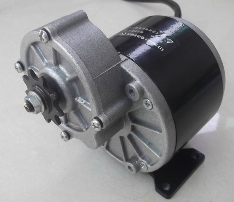 350w 24 V Gear Motor Brush Motor Electric Tricycle Dc