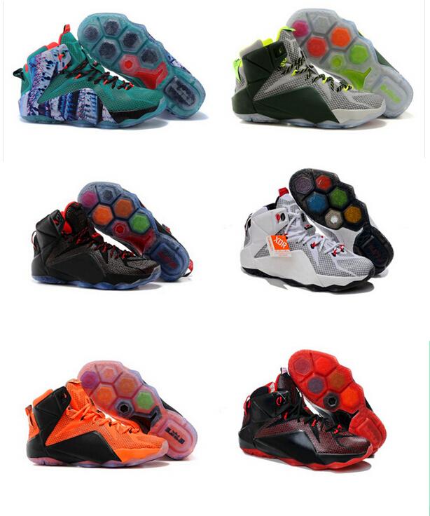 Lebrones 12 xii баскетбол обувь, джеймс 12 элитный баскетбол обувь кроссовки предварительно - онлайн