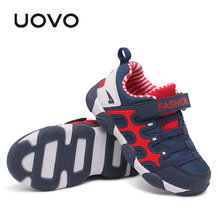 UOVO 2017 spring Kids Shoes Brand Sneakers colorful fashion casual children shoes for boys and girls rubber running sports shoes(China (Mainland))