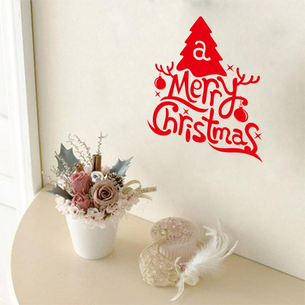 Red Letters Xmas Font B