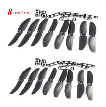 F15344-8 16pcs 8 Pairs GF 5030 5X3 Multirotor CW CCW Propeller Quadcopter Q250 Prop For RC Toy Copter Drone Black Red Blue Green