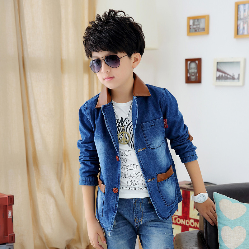 Boys Blazer 2015 Spring And Autumn New Style Years Children 39 S Clothes Big Boy Cowboy Suit Big