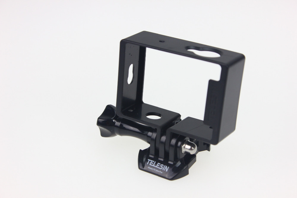 F14724 TELESIN Protective Housing Side Frame Mount for Xiaomi Yi Xiaoyi Action Camera with Long Screw and Buckle <br><br>Aliexpress