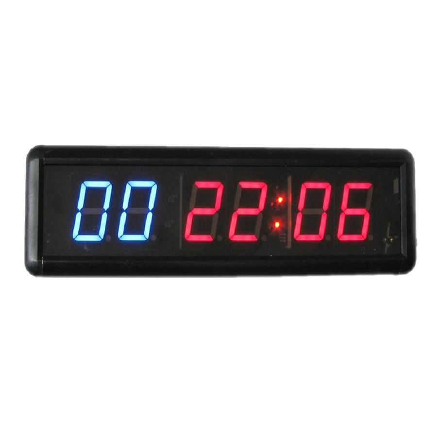 Digits crossfit timer led interval countdown
