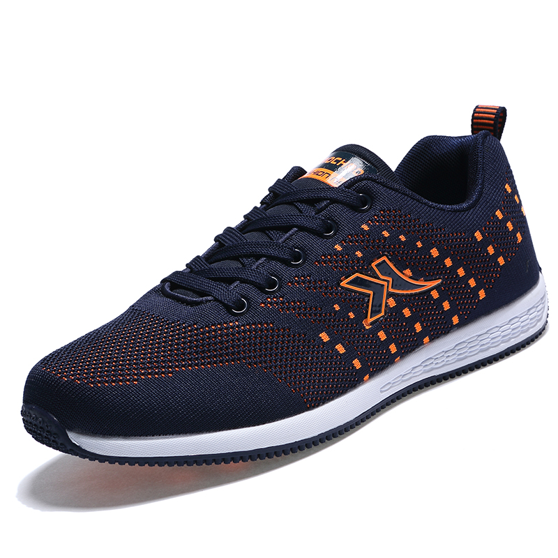 2016 Men's Athletic Shoes Summer/Autumn Sneakers Shoes Men Brown/Orange Cool Sneakers For Men Comfortable Mens Running Shoes(China (Mainland))