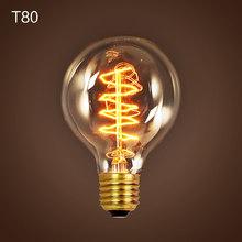 Американский винтажный подвесной светильник s медный держатель лампы вольфрамовый светильник промышленные подвесные лампы Золотой/хром E27...(China)