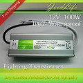 DC 12V 100W Waterproof IP67 LED Driver Power adapter outdoor use for led strip power supply