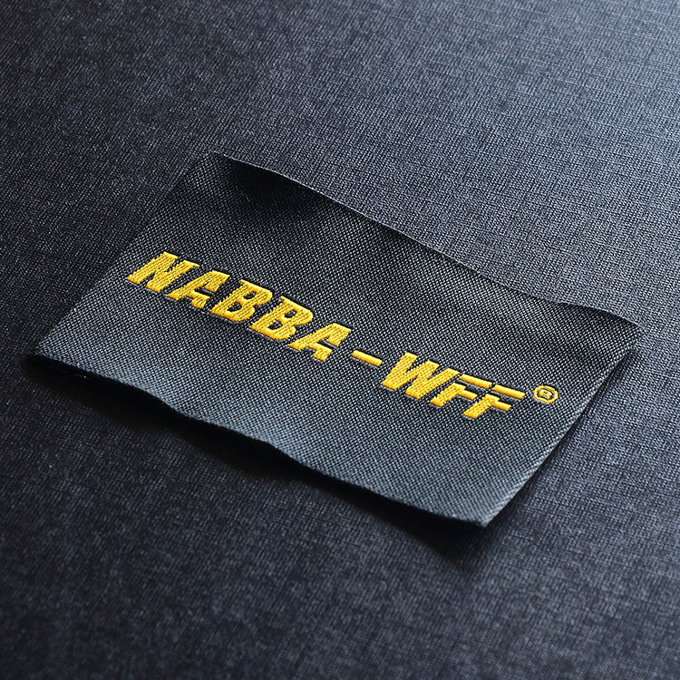 free shipping custom clothing shirt jacket woven labels/garment tags printing/logo brand name/embroidered main tag/collar label(China (Mainland))