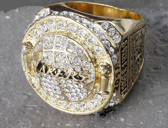 2010 Basketball Los Angeles Lakers LAL Kobe Bryant Championship Jewelry Ring Replica Souvenir US Size 10 - Kyle mo store