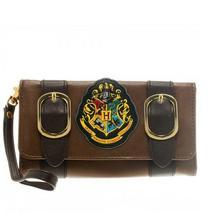 Harry Potter Hogwarts Castle Crest Envelope Satchel Fold Wallet Purse with Tag(China (Mainland))