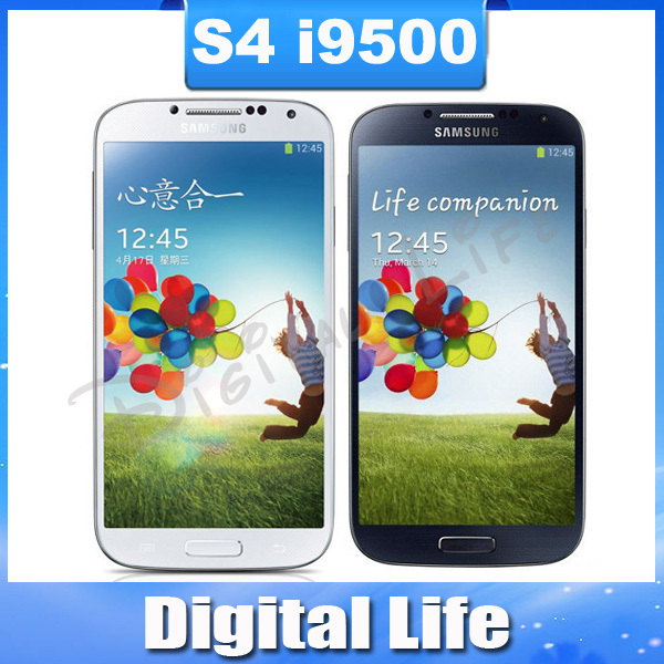 S4 Unlocked Original Samsung Galaxy S4 S IIII SIIII i9500 I9505 Quad-core 3G&4G 13MP GPS WIFI 16G Refurbished Mobile Phone(China (Mainland))