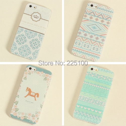Paint Colorful Horse Painted Design Romantic Phone Cover Apple iPhone 5 5S Back Skin Hard Case - Fiona Sue's store
