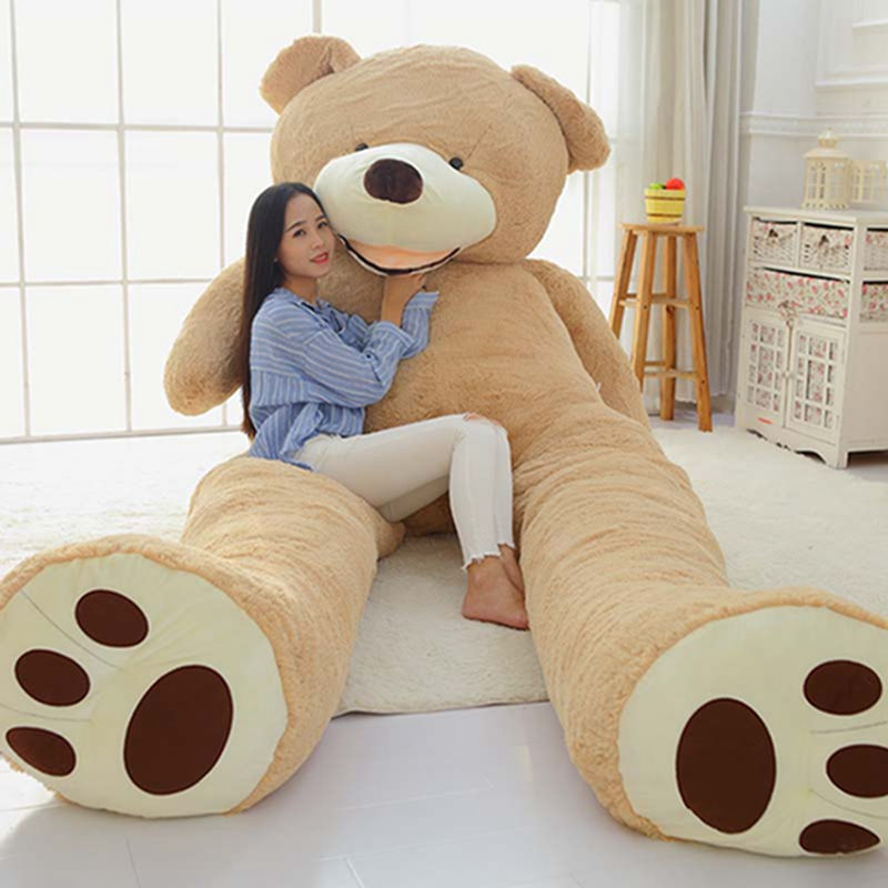1 PC 100cm The Giant Teddy Bear Plush Toy Stuffed Animal High Quality kids Toy Birthday Gift Valentine's Day Gifts Free Shipping(China (Mainland))