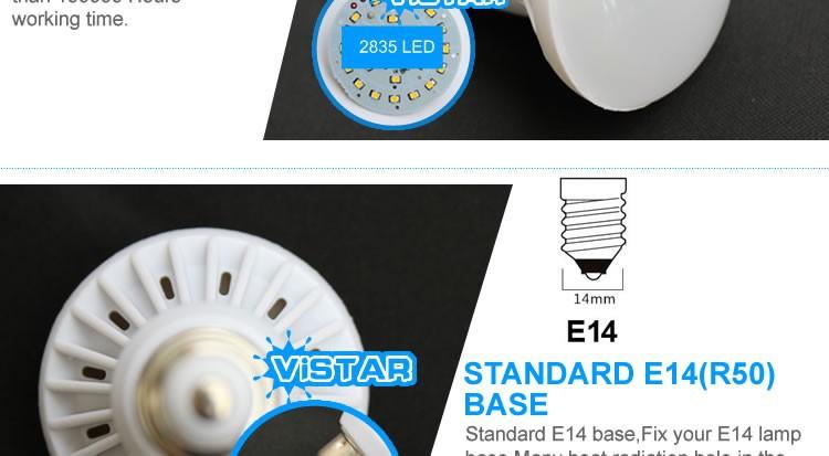 Светодиодная лампа R39 R50 R63 E14 E27 3W 5W 7W 9W 220V 230 240V 12W 15W 20W R80 R95 R125