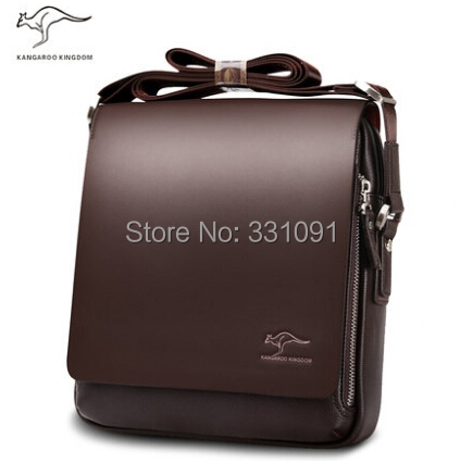 2015 Bolsas Femininas Messenger Bags Big Promotion Kangaroo Brand Man Bag Men's Bags Men Messenger Casual Shoulder Briefcase(China (Mainland))