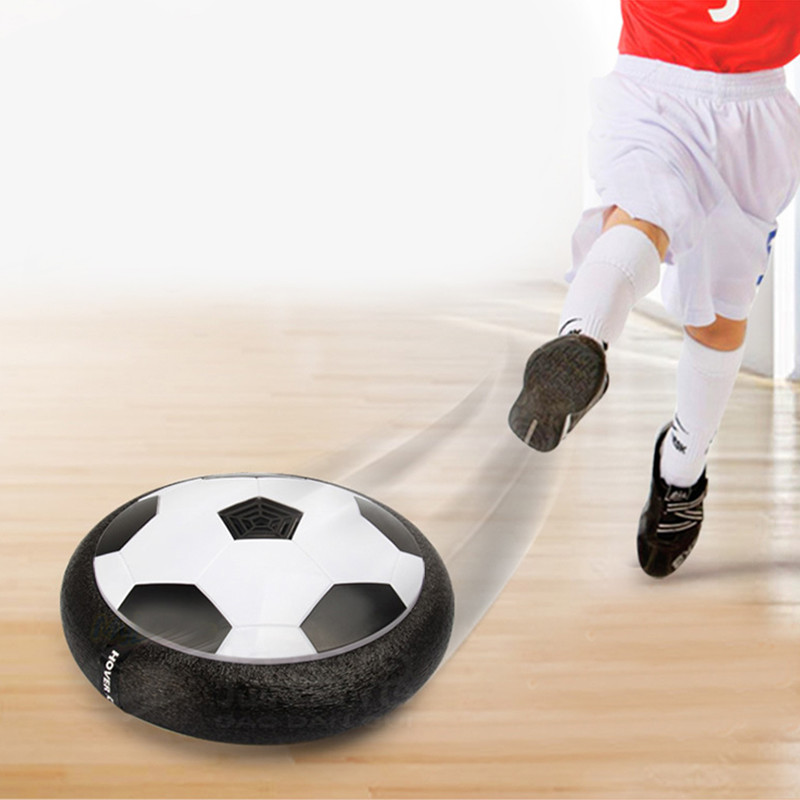 2017 New Indoor Outdoor Hover Football Toy Air Power Football Sport Toys For Children Training Levitate Football Toy(China (Mainland))