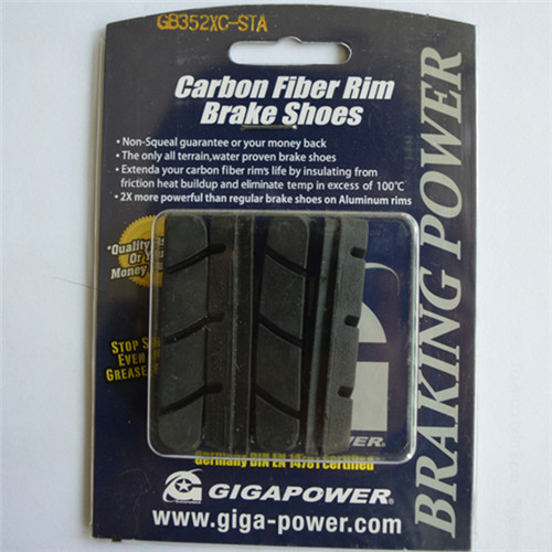 GIGAPOWER Brake Pads;Special for Carbon Wheels;All Terrain;Water Proven;Temperature Control;Non Squeal;Simano Compatibili(China (Mainland))