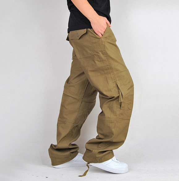 Pants With Lots of Pockets Pants Side Zipper Pocket