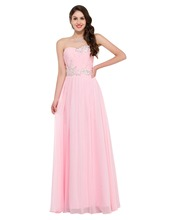 Charming Grace Karin Summer Floor Length Women Long Chiffon Evening dresses Formal Prom Party Gown Celebrity dress Pink 6107(China (Mainland))