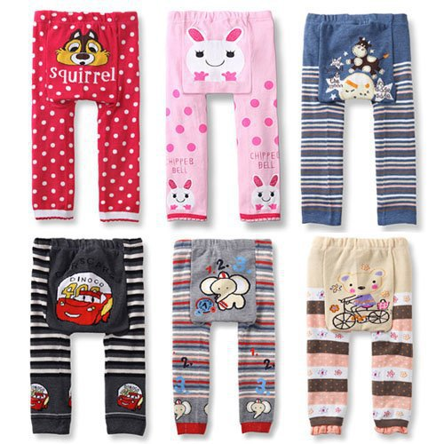 New Baby Cartoon PP Pants Baby Romper Newborns Cotton Tights Baby Tousers Kid Wear