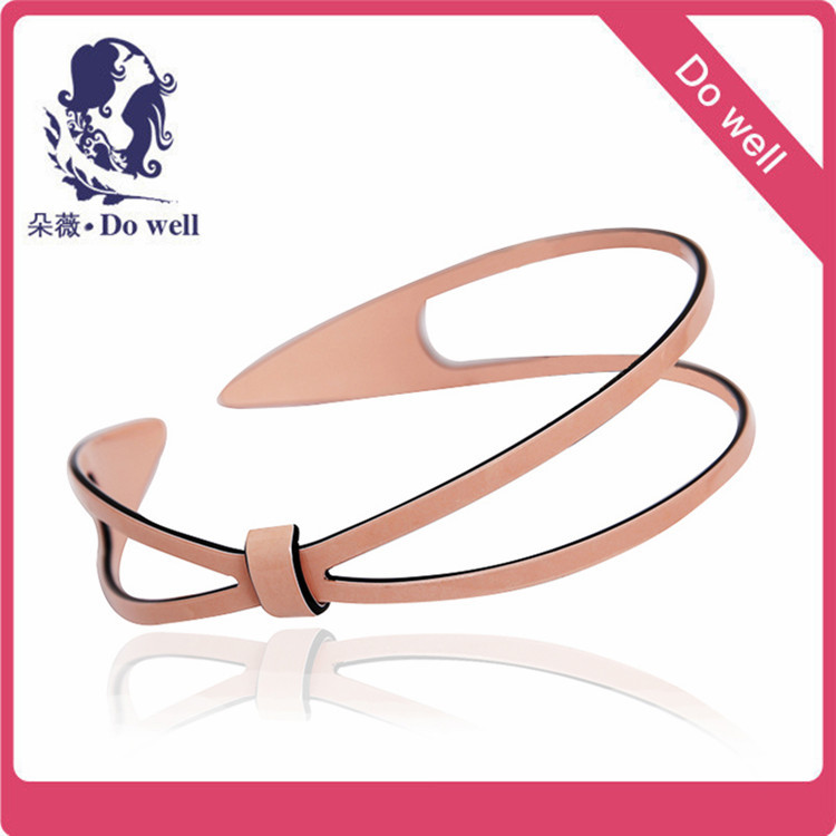 Free Shipping 6pc White and pink Fashion Plain Lady Plastic Hair Band Headband(China (Mainland))