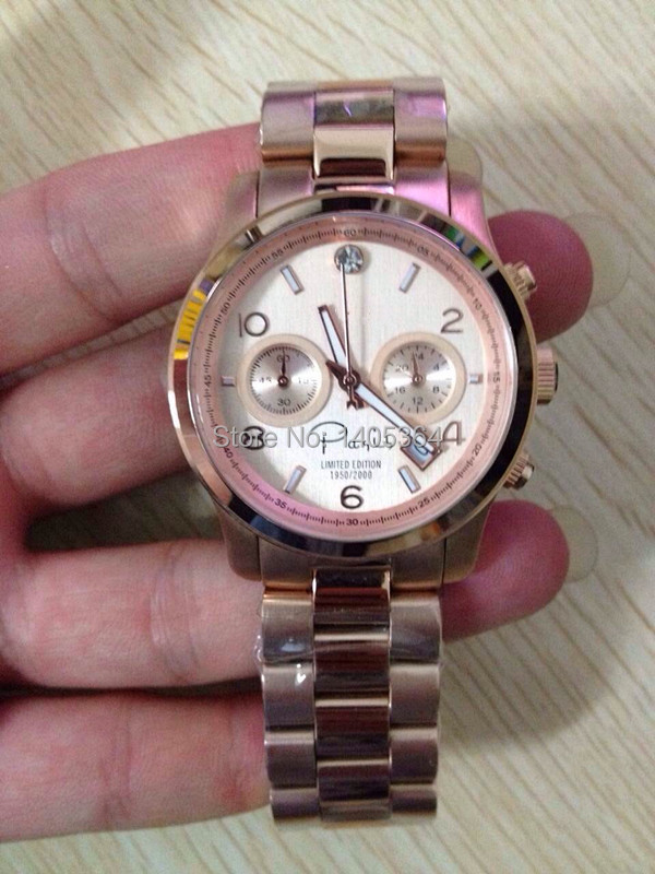 Fashion wristwatches M&&K5716 NEW YORK LIMITED EDITION ROSE-TONE DIAMOND LADIES WATCH M5716 real pics free shipping cost(China (Mainland))
