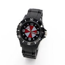 Umbrella silicone watch Quartz Kids Sports fashion cartoon Watch Wristwatch For Boy Students Christmas Relogio Dress Clock watch(China (Mainland))