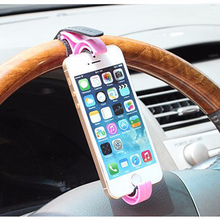 2016 steering wheel support frame of mobile mobile phone mobile new creative auto supplies (China (Mainland))