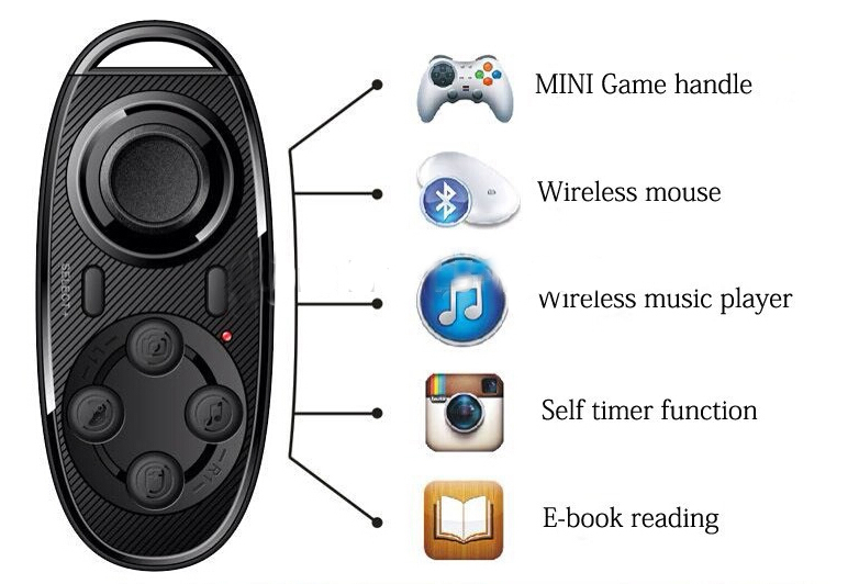iphone bluetooth remote