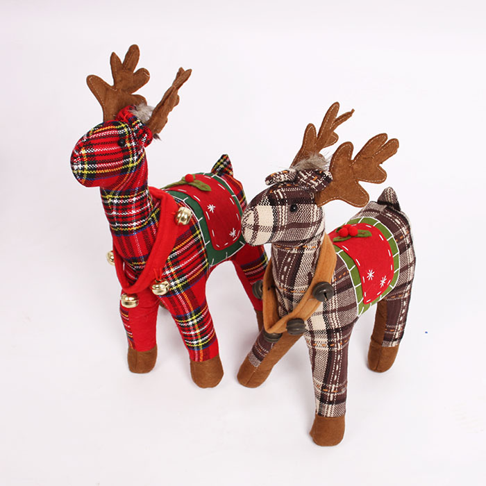 2015 new Inflatable Christmas decoration bell elk deer animal doll cartoon inflatable model activities Advertising(China (Mainland))