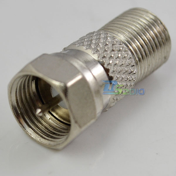 High QualityF-Type F Coax Plug Male to F F-type Coaxial Jack Female Cable Connecter Adapter(China (Mainland))