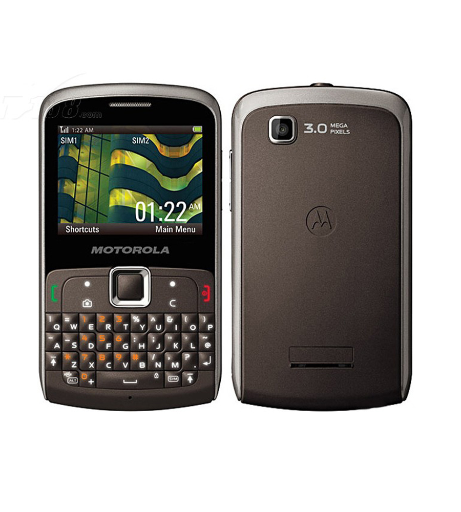 Mobile Phone Motorola EX115 qwerty keyboard GSM850/900/1800/1900 Unlocked 3.1MP camera cheap phone(China (Mainland))