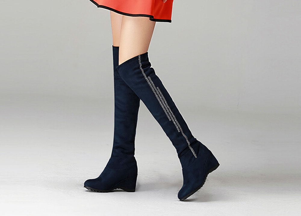 Womens knee high winter boots