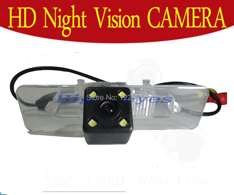 Free shipping HD CCD with 4 LEDs Car Rear View Reverse back up Camera for Subaru Legacy(China (Mainland))