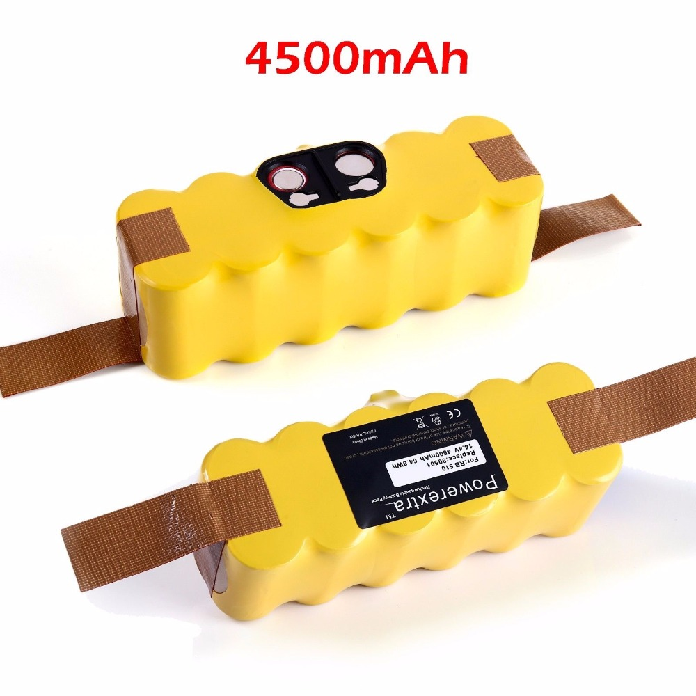 Powerextra 4500mAh APS 14.4v Battery For iRobot For Roomba Vacuum cleaner batteries 595 650 700 770 780 790 800 870 880 Retail(China (Mainland))