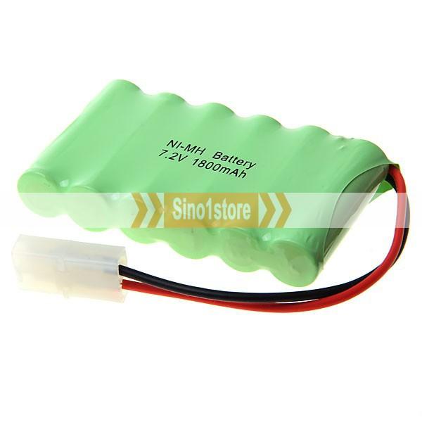 перезаряжаемая ni-mh aa 7.2V 1800mah аккумулятор