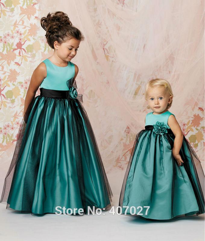 Длинное платье для девочек своими руками 24