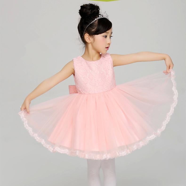 Popular Cap Sleeve Illusion Lace Dress Little Girls Amp Big Girls