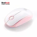 Mini Wireless Mouse 4 Colors Girls Light 2 4Ghz 1500DPI Optical Mouse 3 Button Mini Computer