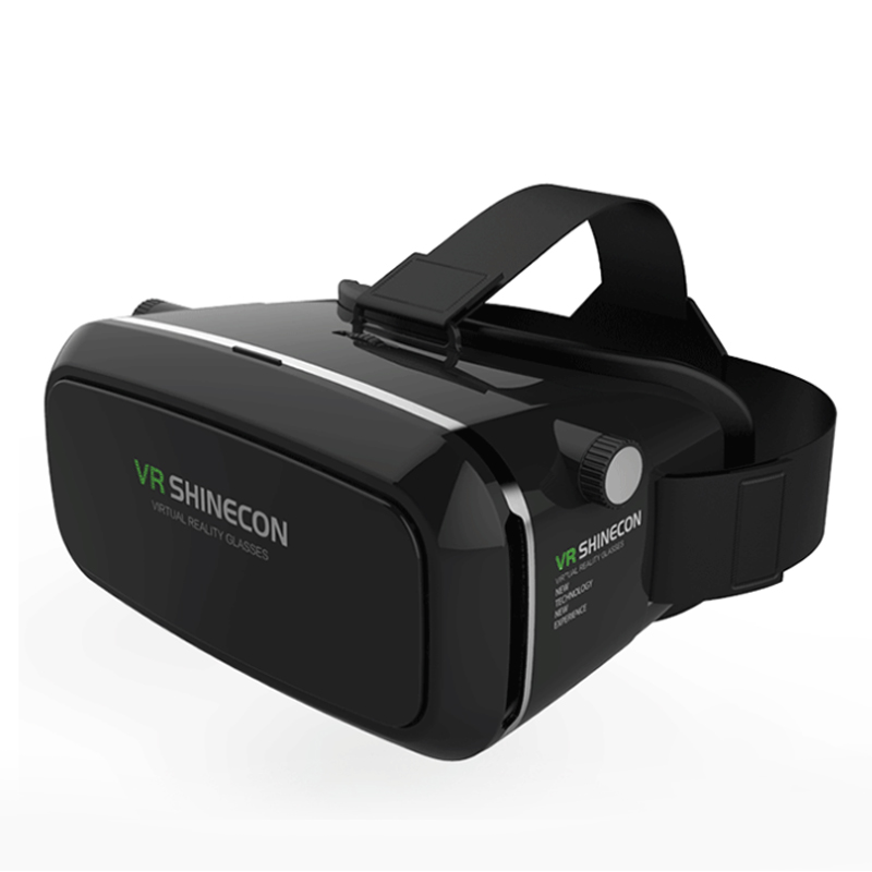 VR Shinecon Virtual Reality 3D Glasses google cardboard 3D VR Glasses 3.5-6.0 inch Smartphones+Bluetooth 3.0 Remote Controller(China (Mainland))