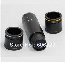 Buy Microscope camera 0.3x Reduction lens, eyepiece C mount adapter lens 23.2mm 30mm 30.5mm adapter for $39.99 in AliExpress store