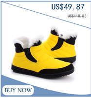 RAX Male Plus Velvet High-top Shoes Outdoor Wear And Warm Snow Boots