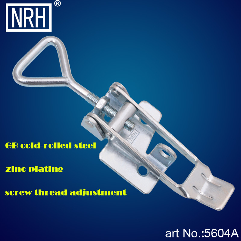 NRH 5604A cold-rolled steel Toggle latch clamp Wholesale price high quality Heavy duty thread adjustable padlockable Latch Clamp(China (Mainland))