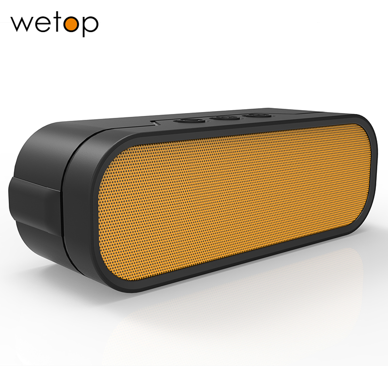 Wetop Portable Wireless Bluetooth Speaker, Powerful Sound with Enhanced Bass, 15 Hour Battery Life,  works with phones and pad<br><br>Aliexpress