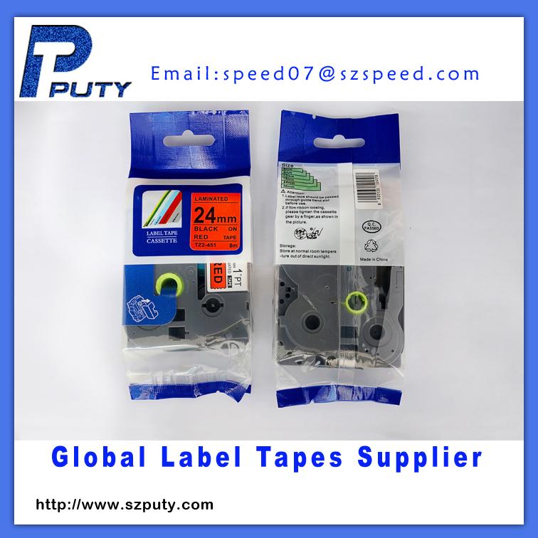 24mm industrial TZ label tape TZ-451 P-touch label<br><br>Aliexpress