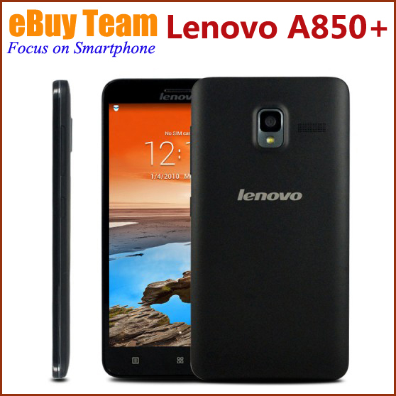 """Original Lenovo A850+ A850 Plus 5.5"""" Android 4.2.2 MTK6592 Octa Core ROM 4GB Unlocked AT&T WCDMA GPS QHD IPS Mobile Phones(China (Mainland))"""