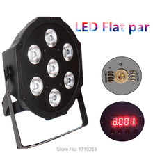 Buy 9 pieces American DJ Flat SlimPar Quad 7 RGBW Color Mixing LED 7x12W DMX Light Uplighting Fast for $240.00 in AliExpress store