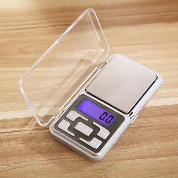 Pocket Jewelry scales 500g * 0.1g LCD mini electronic digital scale Bench Balance Gram Display Small Size(China (Mainland))