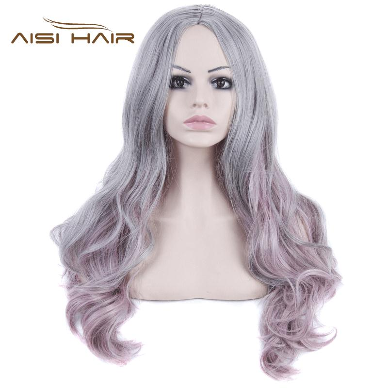 2016 Hot Sales Fashion Product Female Long Wavy Sexy color Wigs Heat Resistant High Quality Natural Synthetic Wigs Free Shipping(China (Mainland))